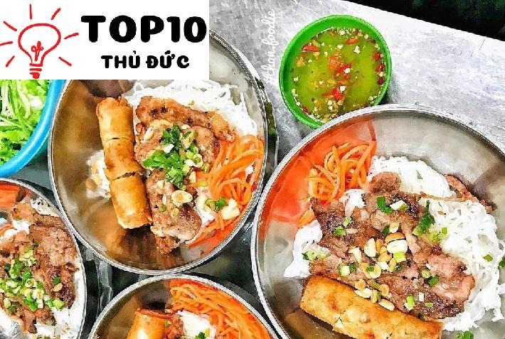 Bún thịt nướng 30 Nguyễn Cừ - Quận 2