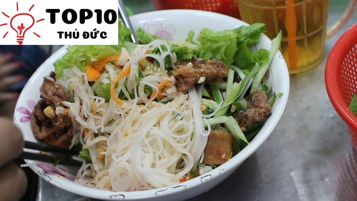 Bún thịt nướng Nguyễn Khắc Chân - Quận 9
