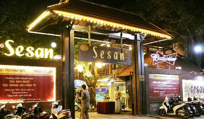 Nhà hàng Sesan - Thủ Đức
