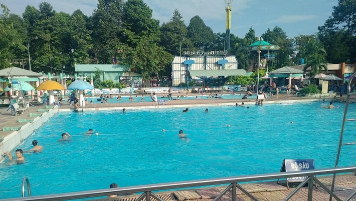 Hồ bơi Thủ Đức - Hồ bơi nhà văn hóa thiếu nhi