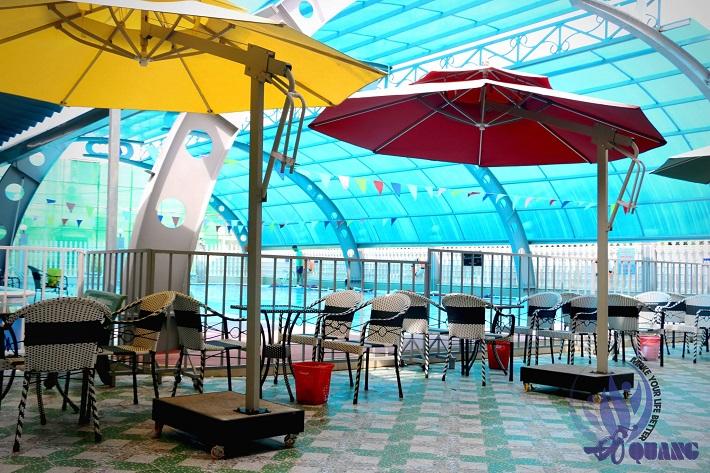Hồ bơi trung tâm thể dục thể thao Thủ Đức