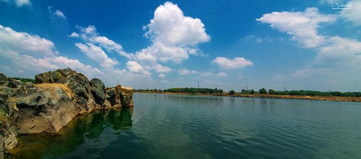 Địa điểm vui chơi ở Thủ Đức - Hồ Đá