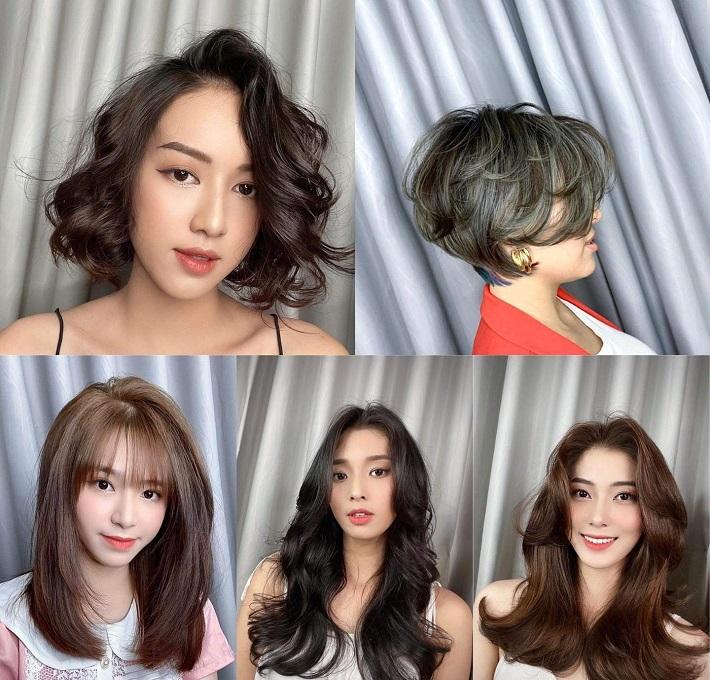 tiệm cắt tóc nữ đẹp ở Thủ Đức LEE Hair Salon
