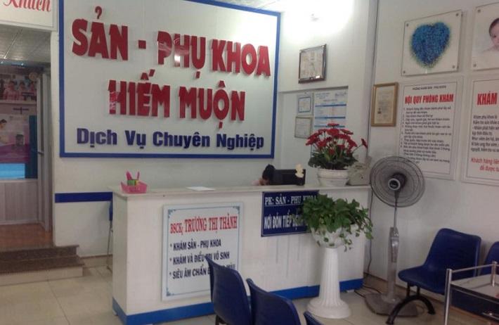 Phòng khám phụ khoa bác sĩ Trương Thị Thành - Thủ Đức