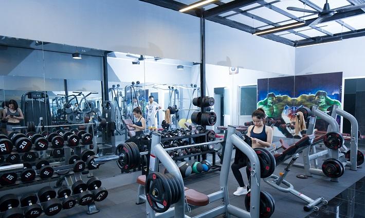 Phòng tập gym 9999 Thủ Đức