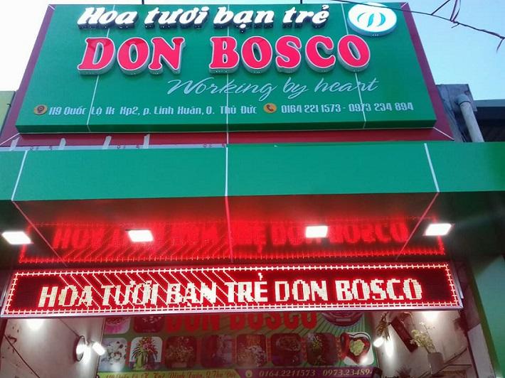 Shop hoa tươi Don Bosco - Thủ Đức