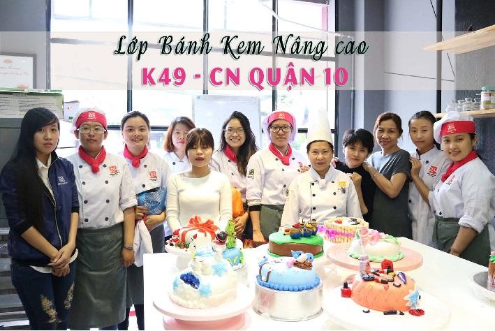 Học làm bánh ở TPHCM - Hướng nghiệp Á Âu