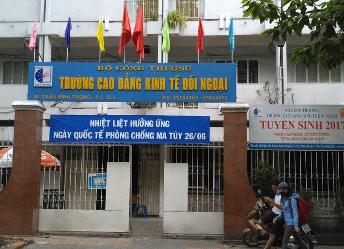 Trường đại học đào tạo ngành Logistics TPHCM - Cao đẳng Kinh Tế Đối Ngoại