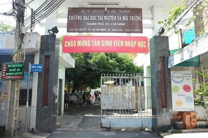 Trường đại học lấy điểm thấp TPHCM - Đại học Tài Nguyên và Môi Trường