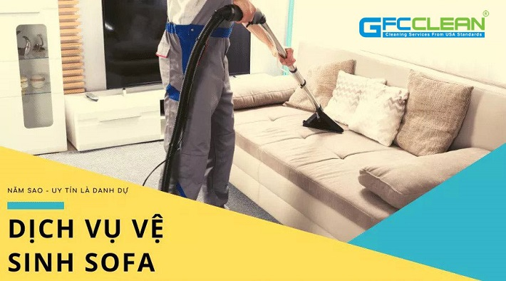 Dịch vụ giặt sofa tại nhà - GFC CLEAN