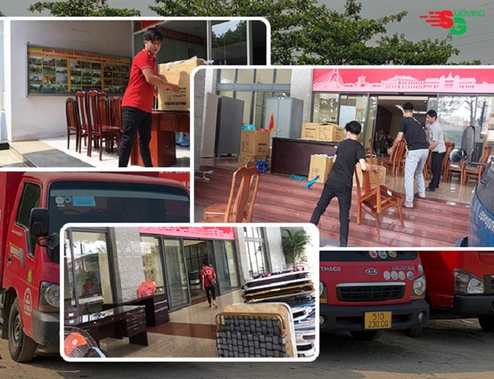 Dịch vụ chuyển văn phòng - Dịch Vụ Chuyển Văn Phòng SG Moving
