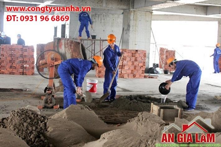 Dịch vụ sửa nhà - Công Ty sửa chữa nhà An Gia Lâm