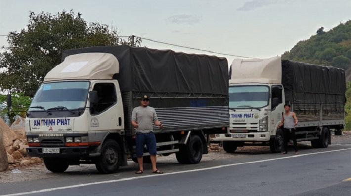 Cho thuê xe tải chở hàng - Công Ty TNHH DV Vận Tải An Thịnh Phát