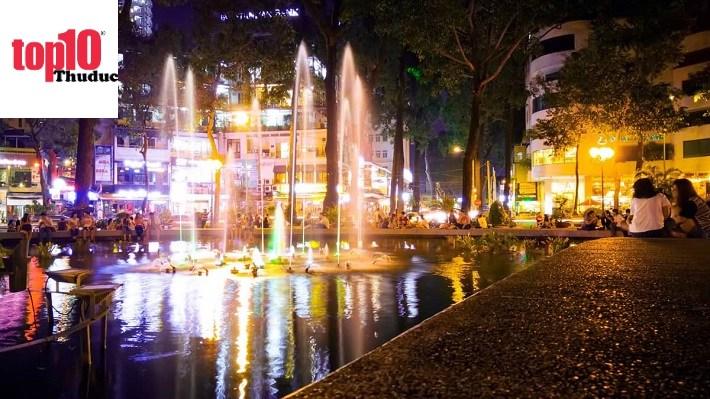 Ảnh Sài Gòn về đêm