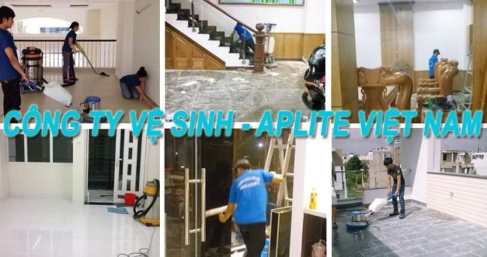 Dịch vụ vệ sinh nhà - Aplite   Nguồn từ vesinhnhao24h.com