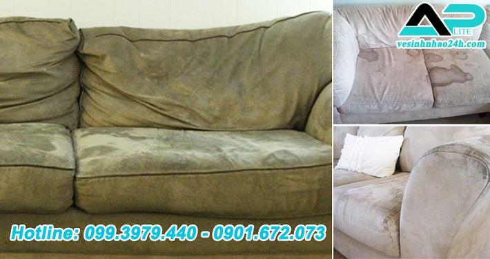 Dịch vụ giặt sofa tại nhà - Dịch vụ giặt ghế sofa Aplite