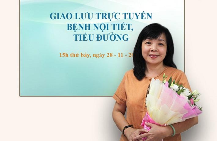 Bác sĩ nội tiết giỏi ở TPHCM - PGS.TS.BS. Lê Tuyết Hoa