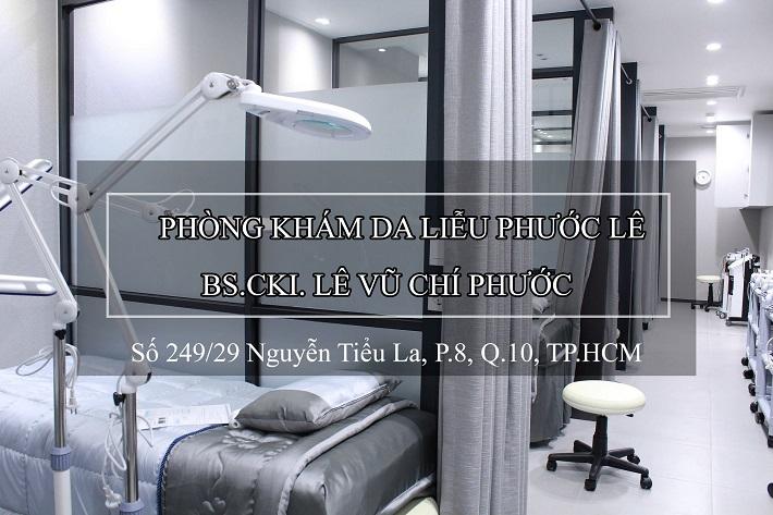 Bác sĩ da liễu trị mụn - Phòng khám BSCKI. Lê Vũ Chí Phước