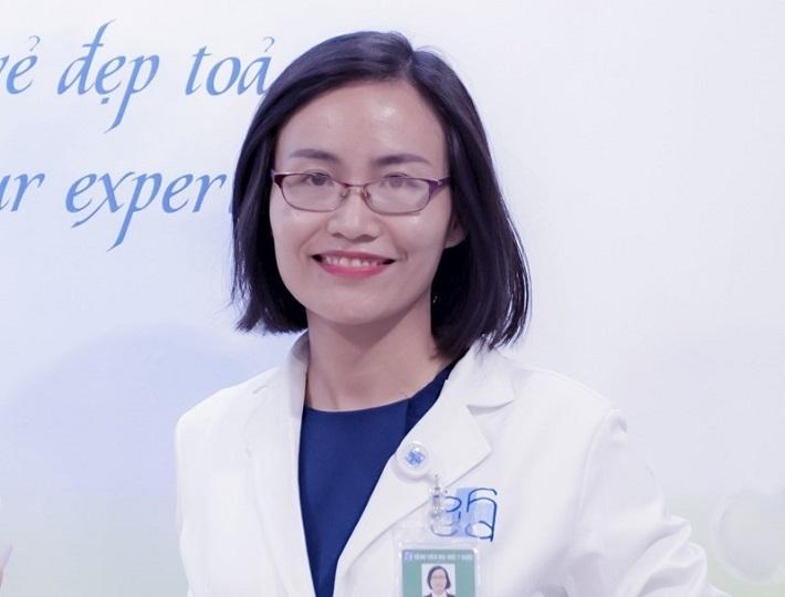 Bác sĩ trị mụn giỏi ở TPHCM - ThS.BS. Thái Thanh Yến