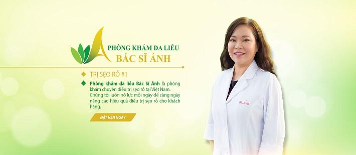Bác sĩ trị mụn giỏi ở TPHCM - TS.BS. Trần Ngọc Ánh