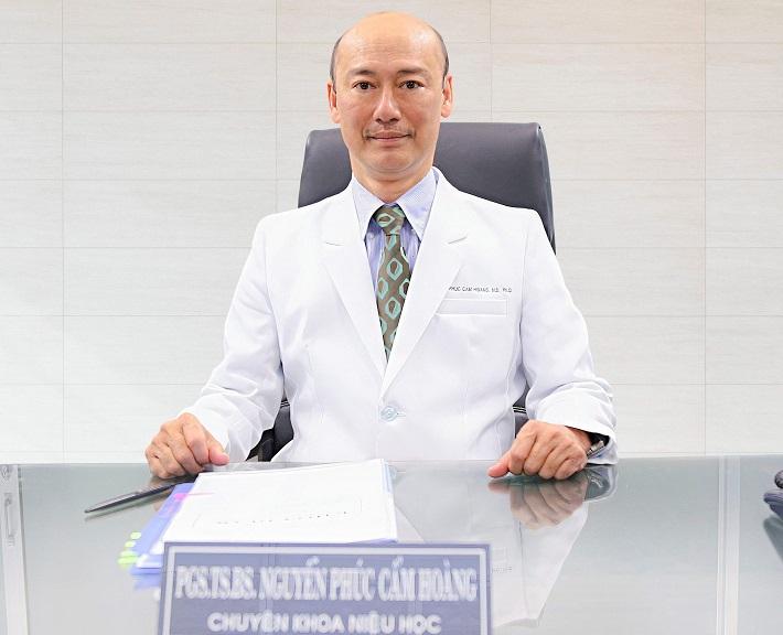 Bác sĩ chuyên khoa thận giỏi ở TPHCM - PGS.TS.BS Nguyễn Phúc Cẩm Hoàng