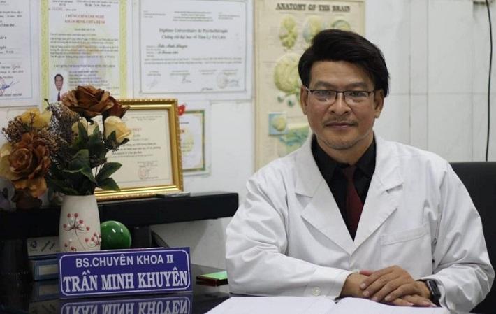 Bác sĩ tâm thần giỏi ở TPHCM - Bác sĩ Chuyên khoa II Trần Minh Khuyên