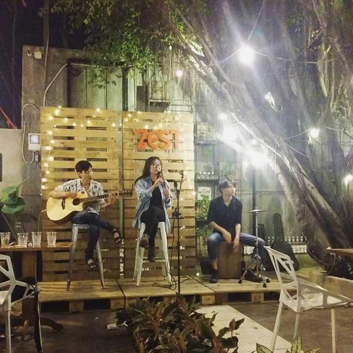 Quán cà phê Zest Cafe Acoustic – Thủ Đức