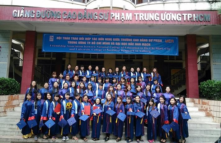 Các trường cao đẳng tốt nhất ở TPHCM - Cao Đẳng Sư Phạm Trung Ương