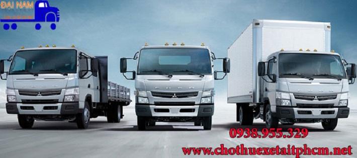 Cho thuê xe tải chở hàng - Công Ty TNHH TM DV Vận Tải Đại Nam
