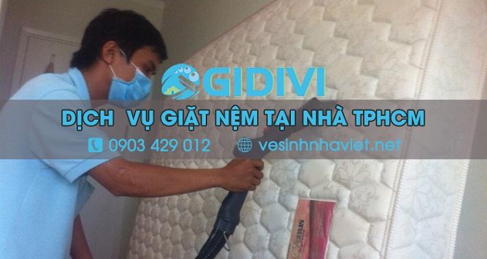 Giặt nệm tại nhà - Công ty TNHH đầu tư & dịch vụ Gia Đình Việt - GIDIVI