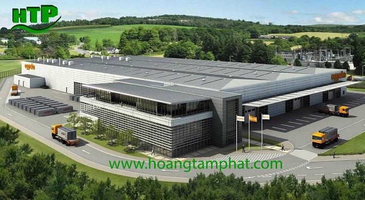 Xây dựng nhà xưởng - Công Ty TNHH thương mại và xây dựng Hoàng Tâm Phát