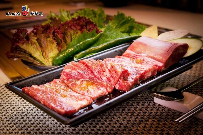 Quán ăn Hàn Quốc ở Thủ Đức - King BBQ Buffet