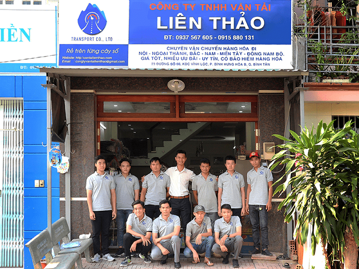 Cho thuê xe tải chở hàng - Công ty TNHH Vận Tải Liên Thảo