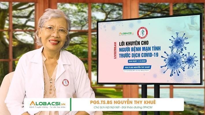 Bác sĩ nội tiết giỏi ở TPHCM - GS.TS.BS Nguyễn Thy Khuê