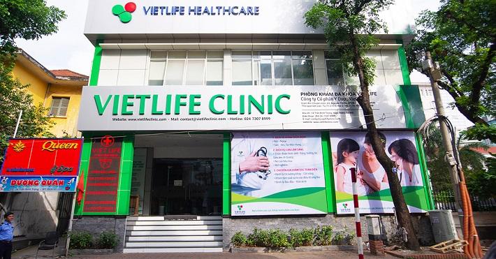 Phòng khám đa khoa ở TPHCM - Hệ thống phòng khám đa khoa Vietlife