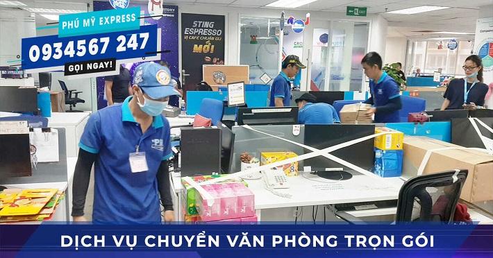 Dịch vụ chuyển văn phòng Phú Mỹ Express