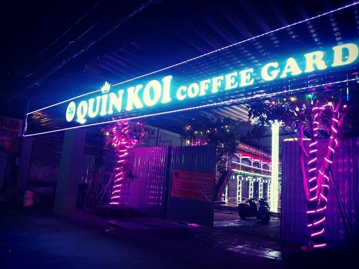 Quin Koi Coffee Garden