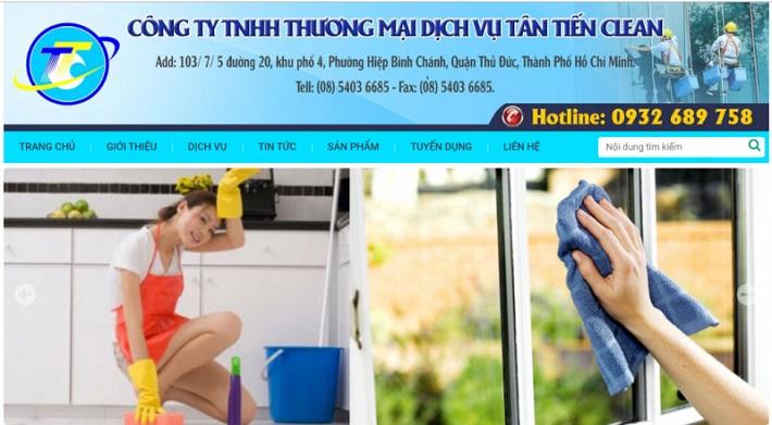 Dịch vụ vệ sinh nhà - Tân Tiến Clean   Nguồn từ vesinhtantien.com