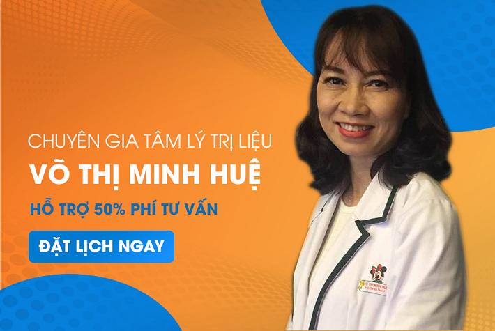 Bác sĩ tâm thần giỏi ở TPHCM - Thạc sĩ Võ Thị Minh Huệ