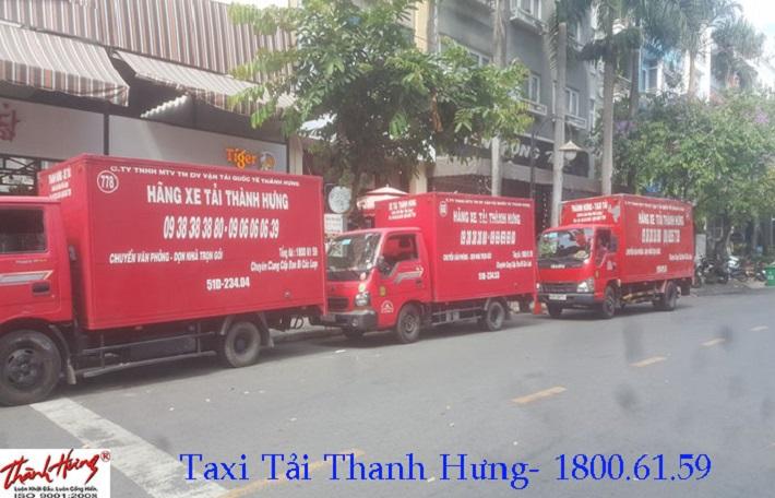 Cho thuê xe tải chở hàng - Công Ty Thành Hưng