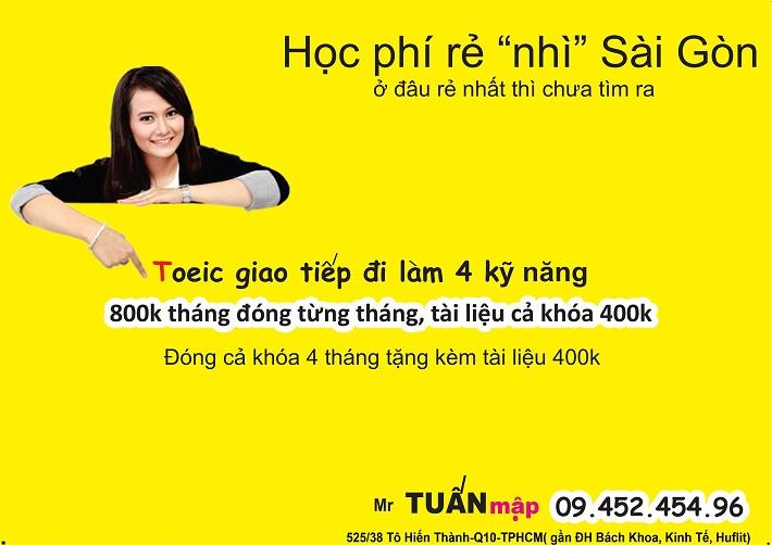 Giáo viên dạy anh văn giỏi TPHCM - Thầy Tuấn (thầy Tuấn Mập)