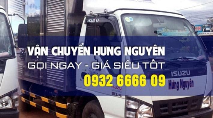 Cho thuê xe tải chở hàng - Công Ty TNHH TM DV Vận Chuyển Hưng Nguyên
