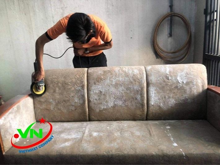 Dịch vụ giặt sofa tại nhà - Dịch vụ giặt ghế sofa Việt Nhật