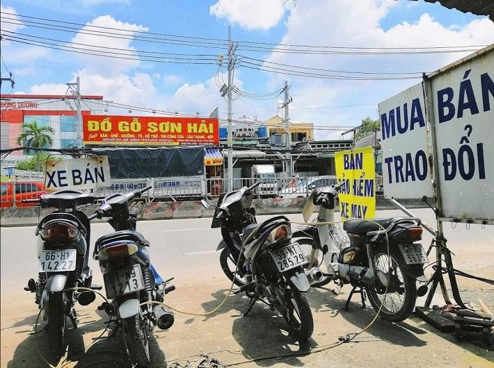 Bán xe máy cũ tại Thủ Đức - Trung tâm xe máy Huỳnh Văn