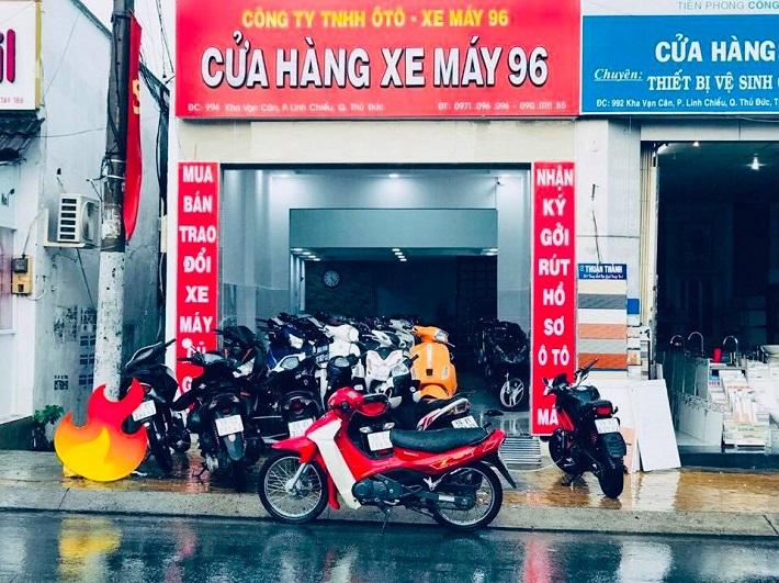 Bán xe máy cũ tại Thủ Đức - Cửa hàng xe máy 96