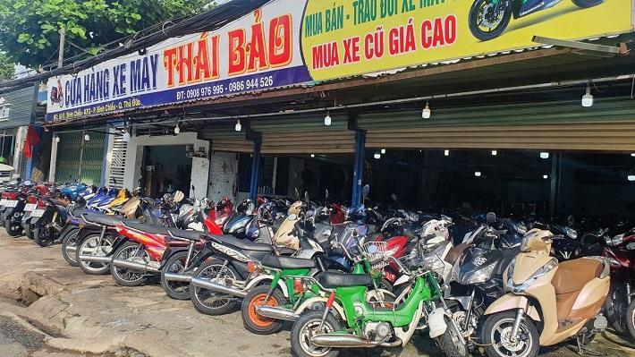 Bán xe máy cũ tại Thủ Đức - Xe máy Thái Bảo