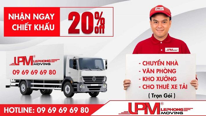 Dịch vụ chuyển kho xưởng Lê Phong Moving | Nguồn từ trang taxitai.org