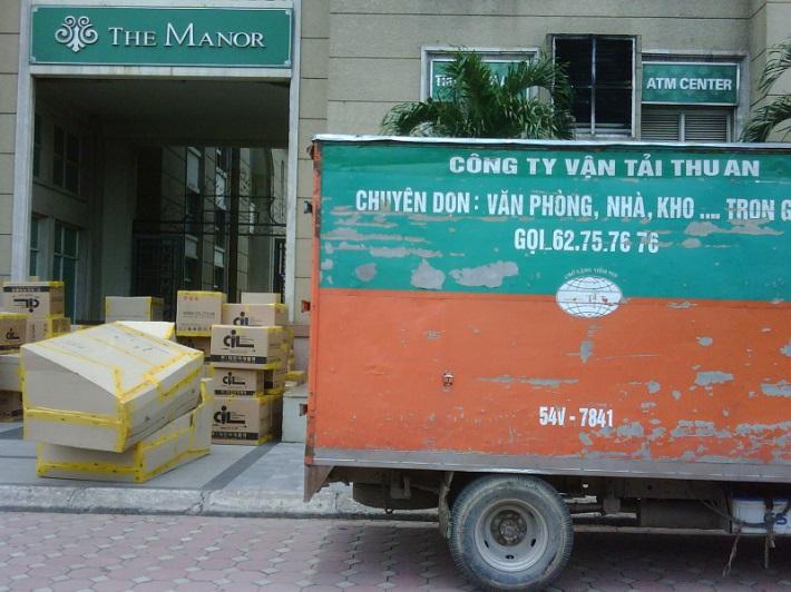 Chuyển nhà trọn gói Hà Nội - Dịch vụ vận chuyển Thu An