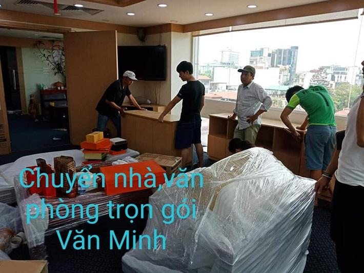 Chuyển văn phòng Hà Nội - Công Ty vận chuyển văn phòng Văn Minh
