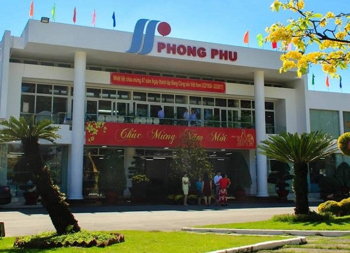 Công ty may mặc - Tổng Công Ty Cổ Phần Phong Phú